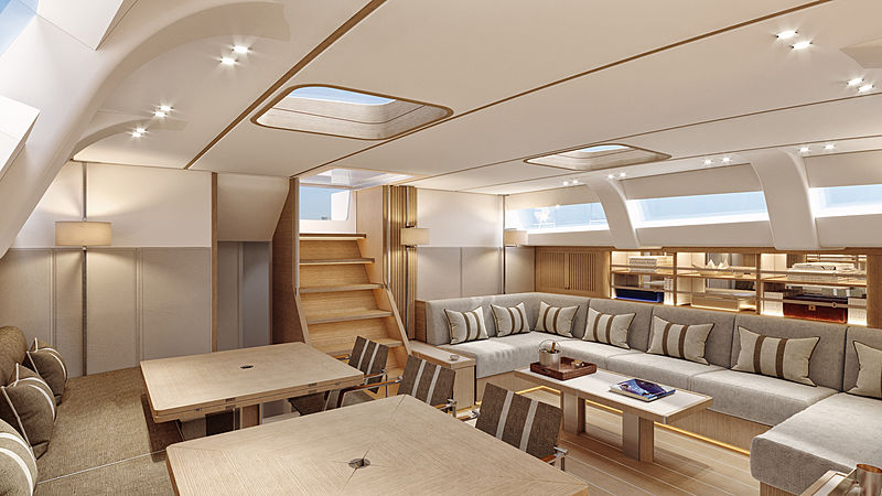 Swan 98 interior options