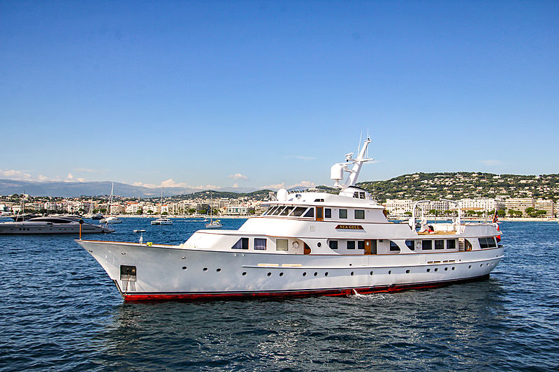 Seagull of Cayman yacht in Cannes