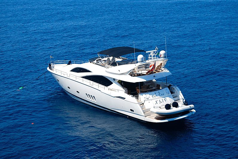 FAR TOO XSIV yacht Sunseeker