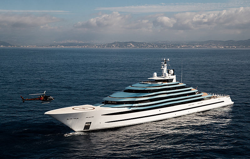 Jubilee motor yacht by Oceanco