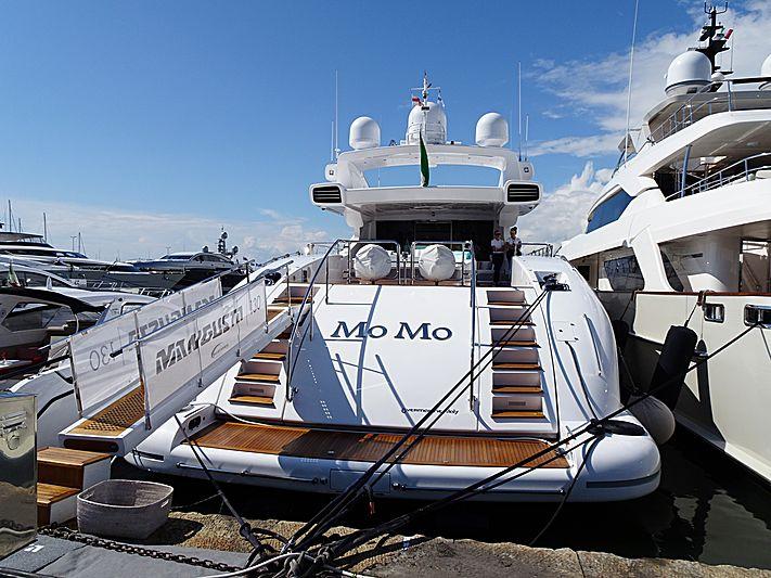 Mo Mo yacht in Viareggio