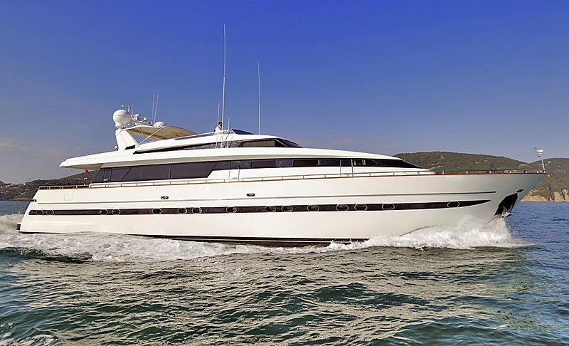 SanLorenzo 100 yacht Polar Star