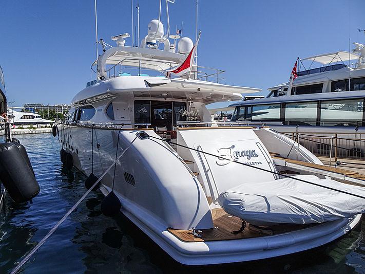 Amaya yacht in Cannes