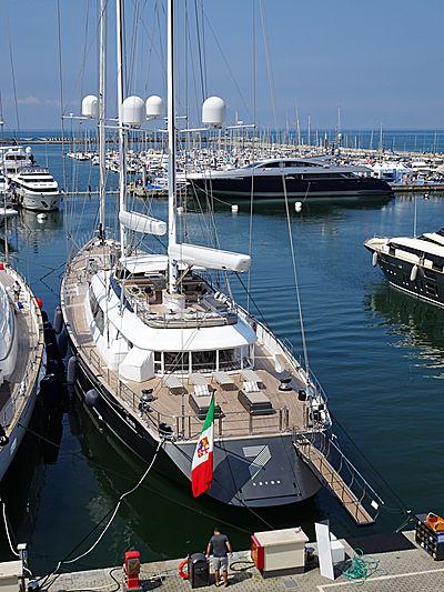 Seven yacht in Viareggio