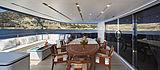 Forwin yacht main aft deck