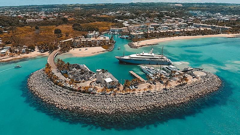 Azteca motor yacht by CRN in Barbados
