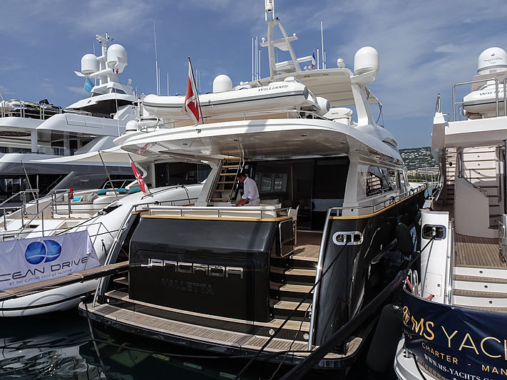 Jangada yacht in Cannes