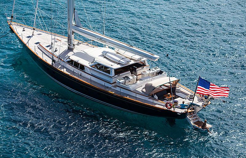 Marae yacht cruising