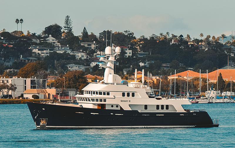 Scout II motor yacht in San Diego