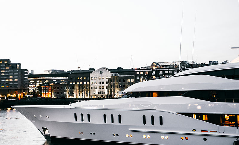 Vanish yacht by Feadship in London