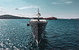 Galileo G yacht at the Perini Navi Cup