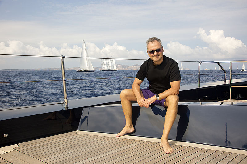 Silvio Scaglia at the Perini Navi Cup