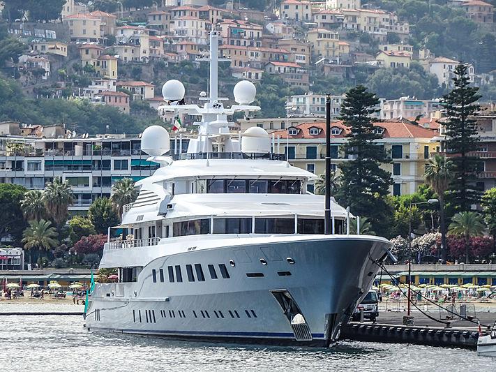 Axioma yacht in San Remo