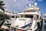 Tanusha yacht in San Remo