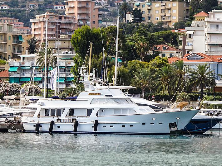 MIDNIGHT SAGA II yacht Moonen