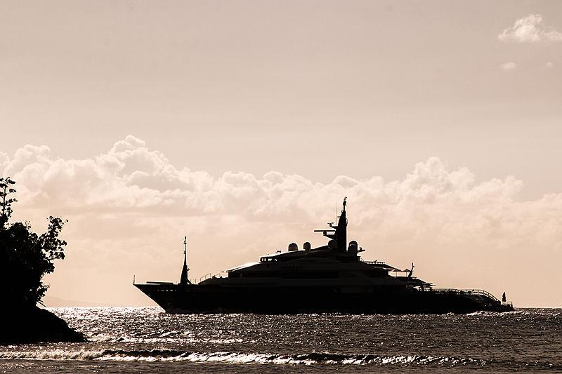 Alfa Nero yacht in Antigua