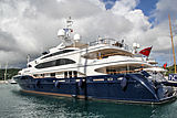 Andiamo yacht in Antigua