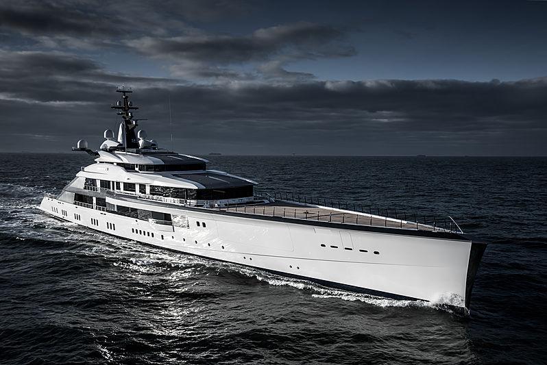 Bravo Eugenia motor yacht by Oceanco