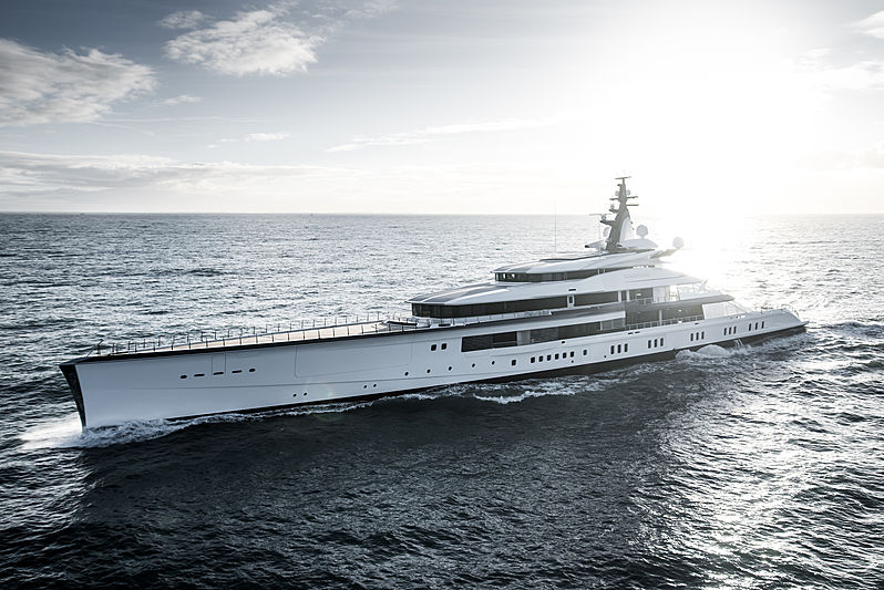 Project Bravo Yacht by Oceanco