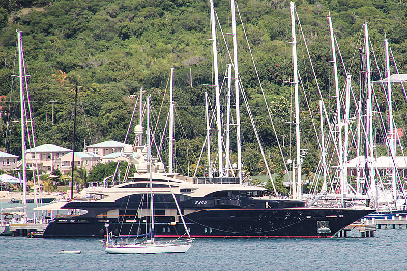 Bash yacht in Antigua