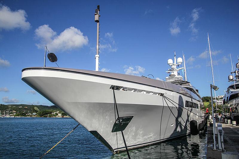 Eternity yacht in Antigua