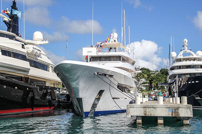 Joy yacht in Antigua