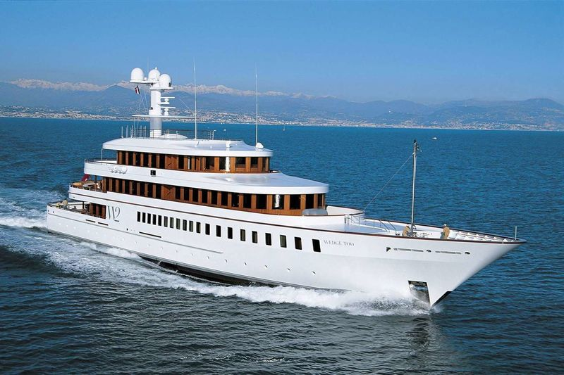 WEDGE TOO yacht Feadship