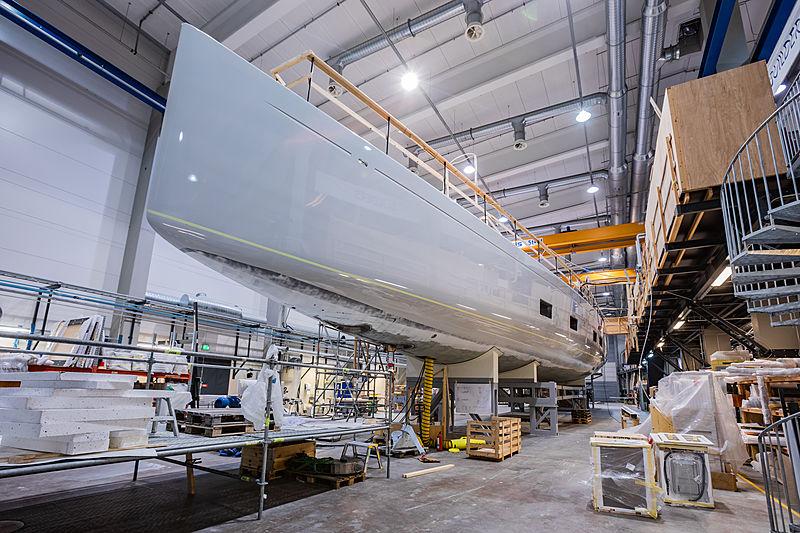 Baltic 142 Canova in-build
