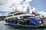 Laurel yacht in Antigua