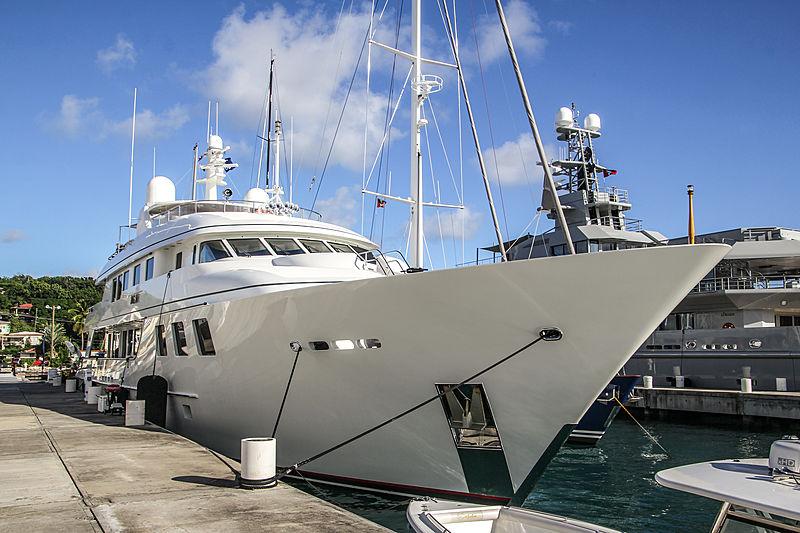 Mim yacht in Antigua