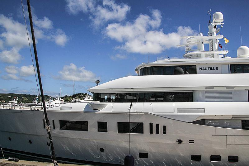 Nautilus yacht in Antigua