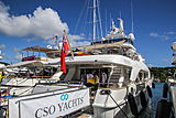 New Star yacht in Antigua