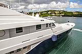 Odessa yacht in Antigua