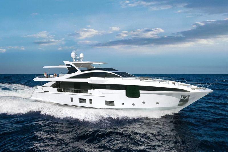 IRYNA yacht Azimut