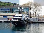 Highlander yacht in Barcelona