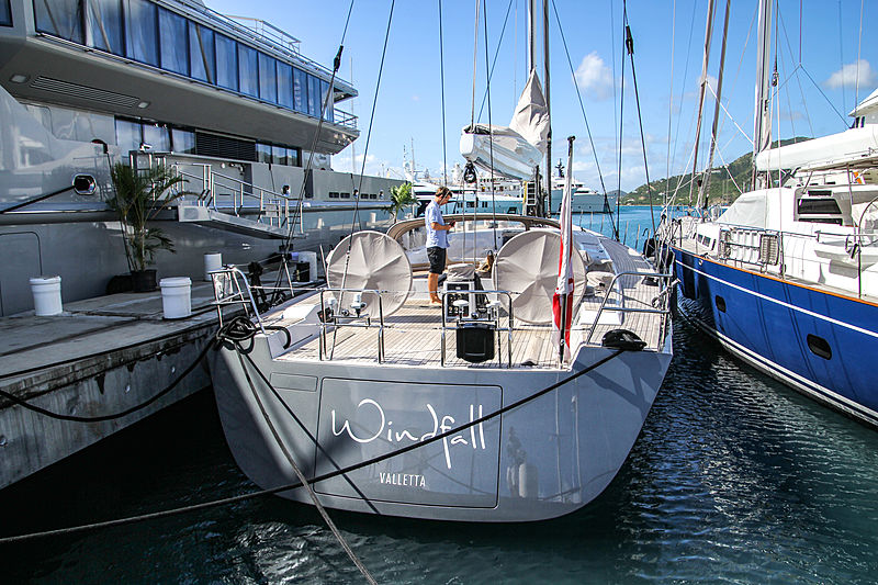 Windfall yacht in Antigua