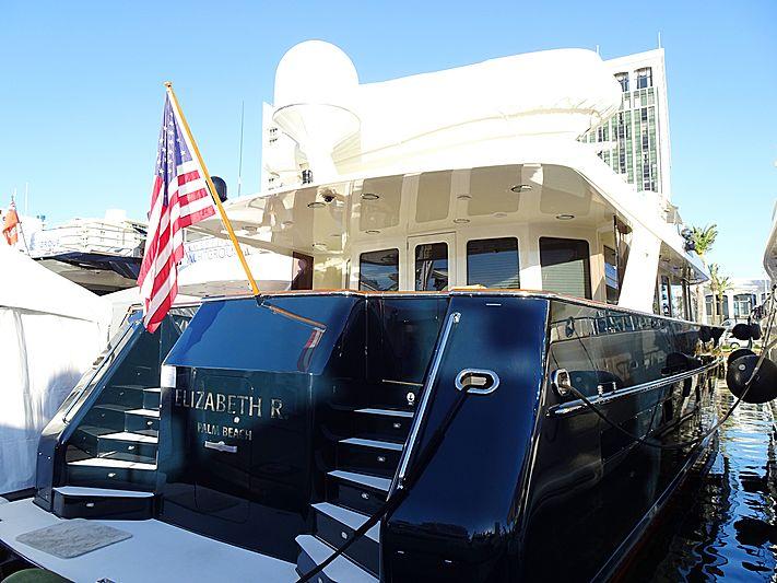 Elizabeth R yacht in Miami Beach