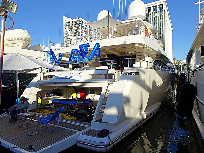 Eversea yacht in Miami Beach