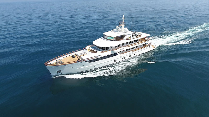 Meteor yacht by Mural Yachts