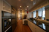 Meteor yacht galley