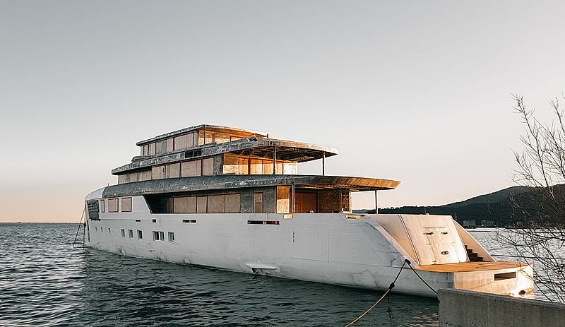 56m Voyager Yacht by Perini Navi