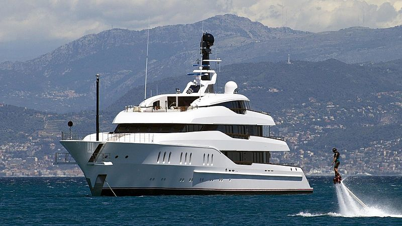 Vanish motor yacht by Feadship
