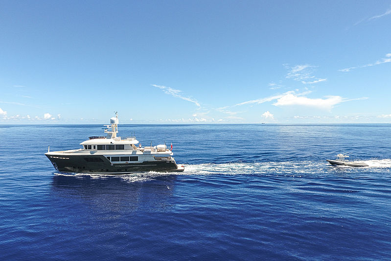 Acala yacht in Cayo Largo