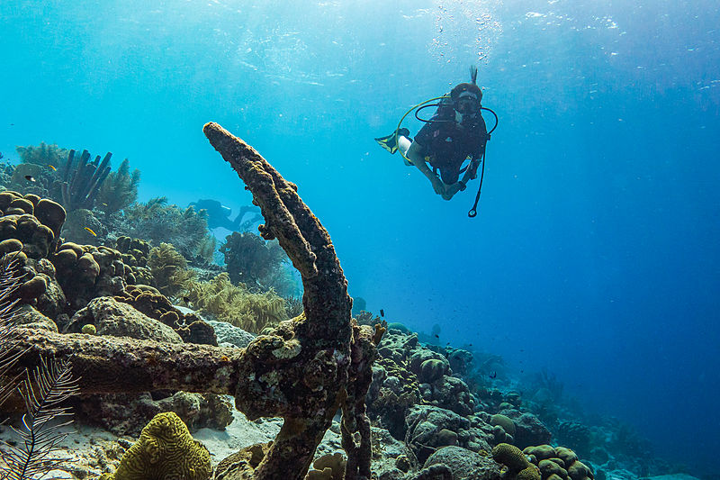 Diver in Cayo Largo