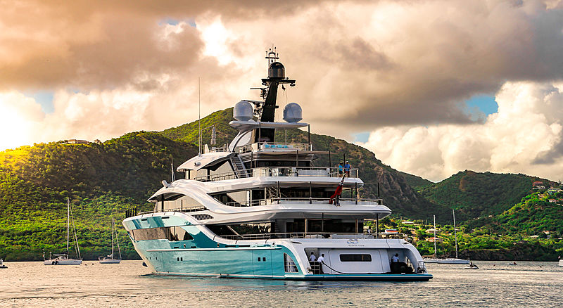 GO motor yacht by Turquoise Yachts in Antigua