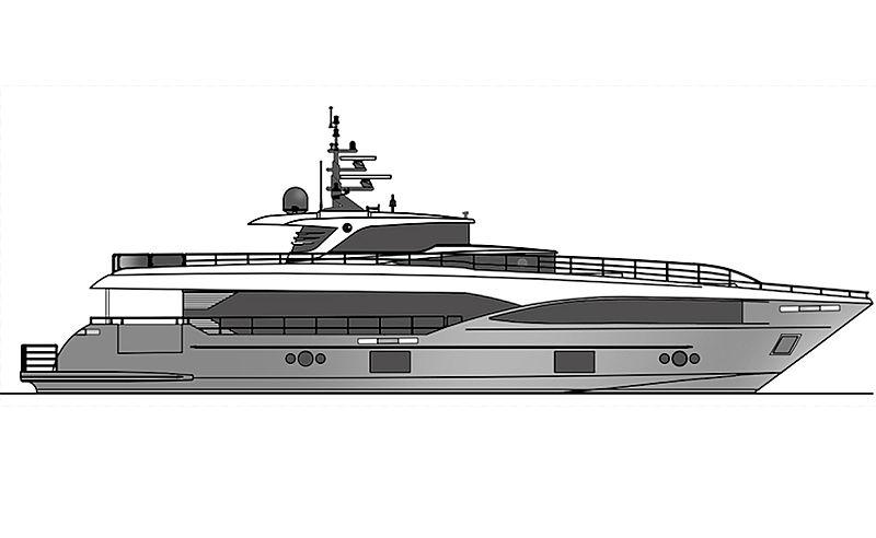 EAGLES yacht Gulf Craft
