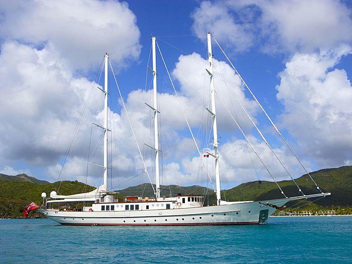 Montigne sailing yacht anchored