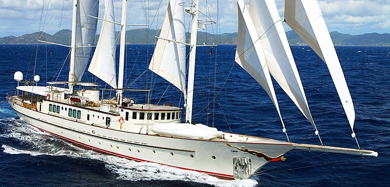 Montigne yacht sailing