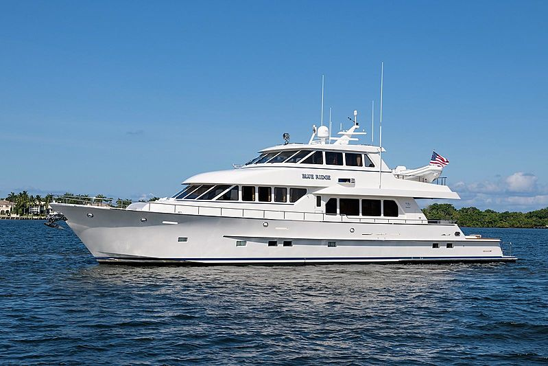 Paragon 94 yacht Blue Ridge