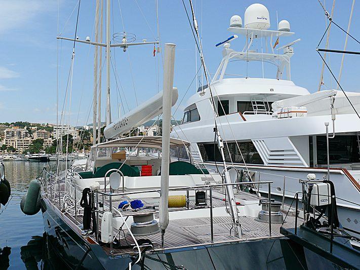 Saudade yacht in Palma de Mallorca